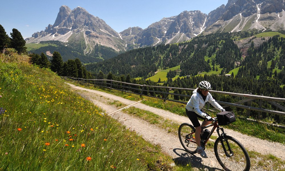 Girare la regione a piedi o con la bicicletta